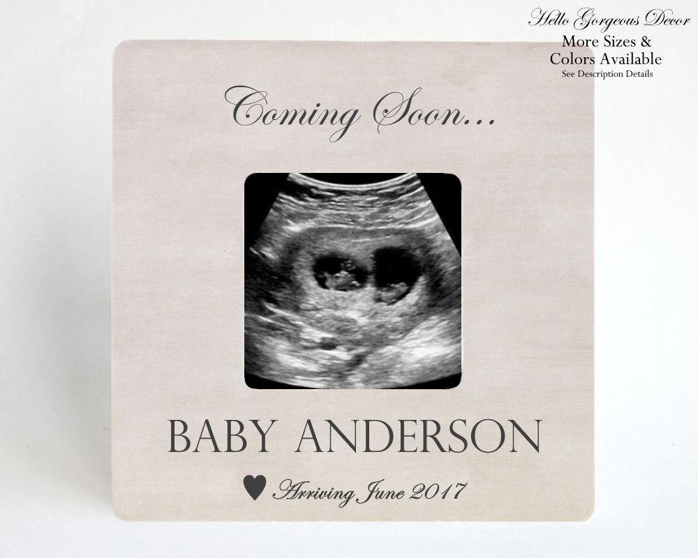 Schwangerschaft Ankündigung Rahmen Ultraschall Bilderrahmen | Etsy