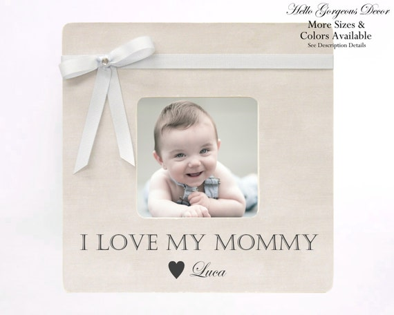 Mother\'s Day Gift Picture Frame to Mom Personalized from   Etsy