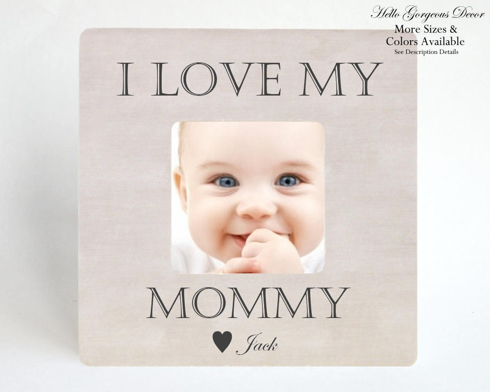 Valentine\'s Day Gift to Mom from Daughter Son - Picture Frame I LOVE ...