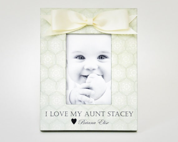 Aunt Birthday Gift Personalized Picture Frame Auntie Present