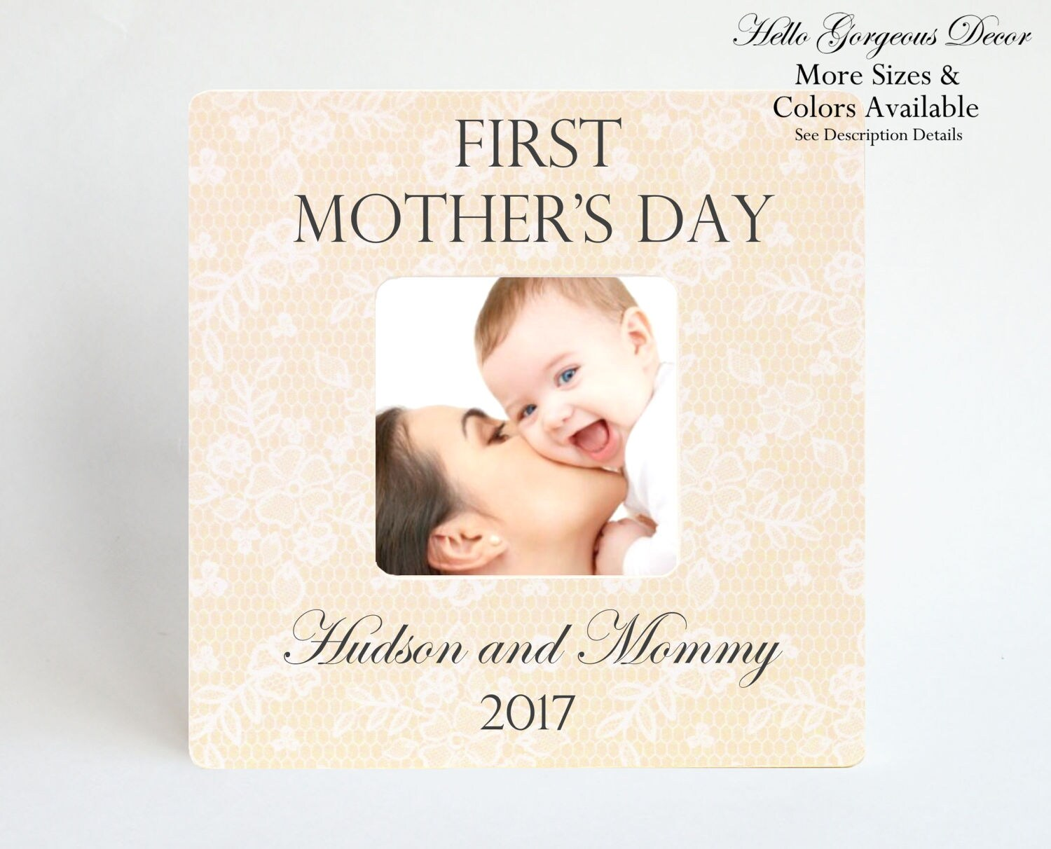 FIRST MOTHER\'S DAY Gift to New Mom Picture Frame Gift for Mother ...