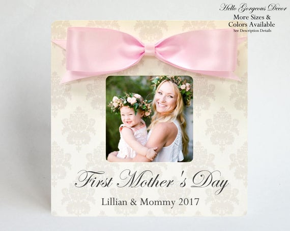 FIRST MOTHER\'S Day Gift to New Mom Picture Frame | Etsy