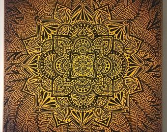 Yellow Henna and Tattoo Inspired 010517