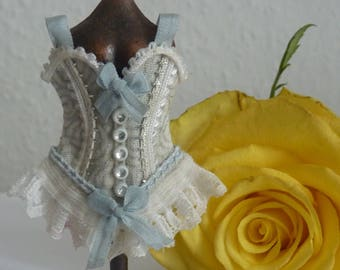 Lovely corset for the Doll House Lady 1:12 dress form
