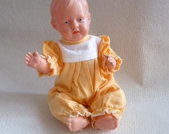 Vintage Germany Celluloid SCHILDKRÖT BEBI Doll 21.5 cm 8.5