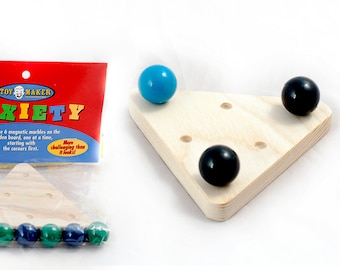 Anxiety-Magnetic Marble Brain Teaser