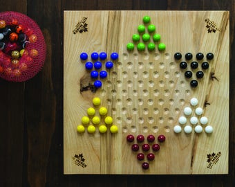 Chinese Checkers & Colour Sudoku