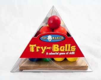 Try-Balls Brain Teaser