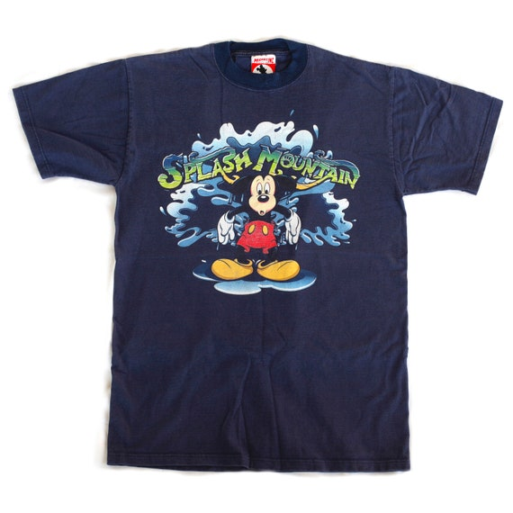 Rare Vintage 90s Disney World Splash Mountain Mick