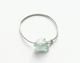 Dainty handmade 14k gold filled or sterling silver Amazonite ring