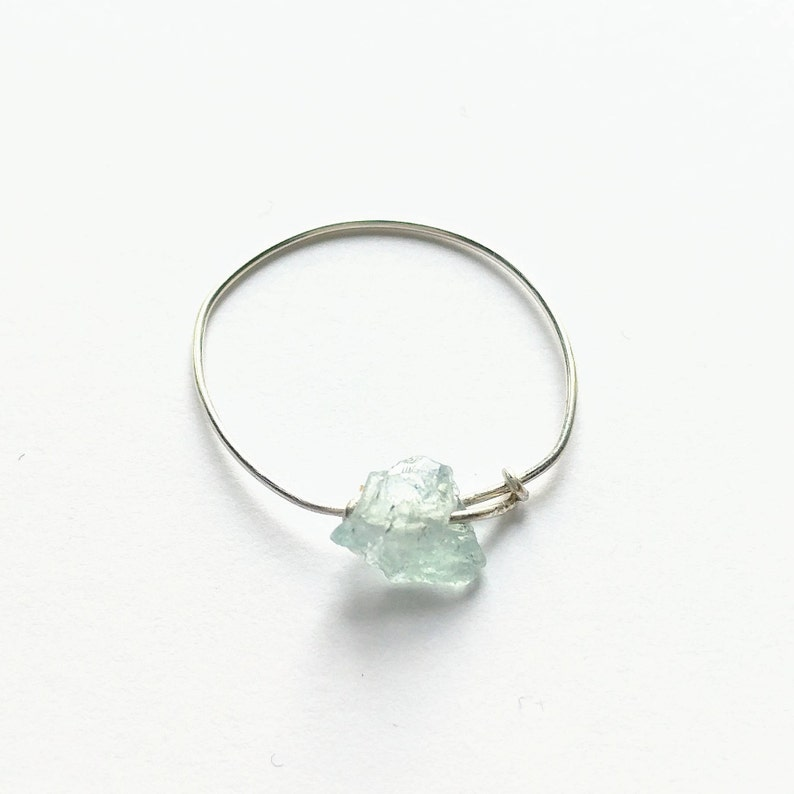 Dainty handmade 14k gold filled or sterling silver Amazonite image 0