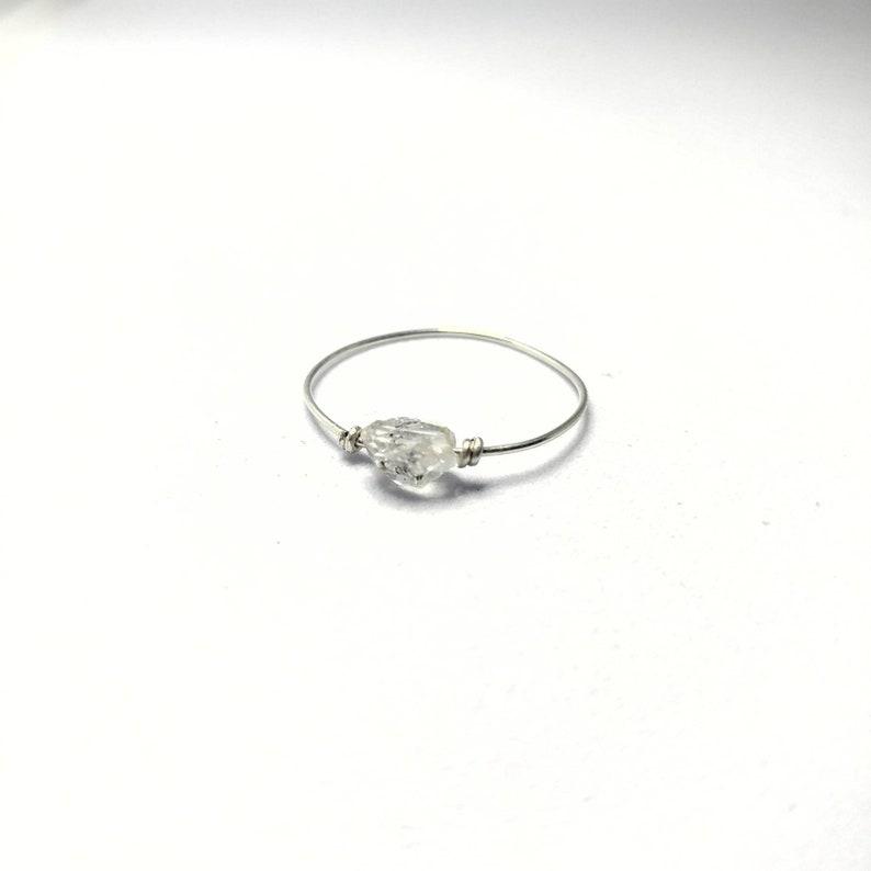Herkimer Diamond Ring image 0