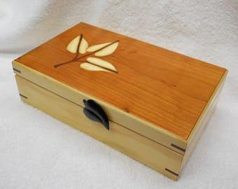 Box Elder keepsake box #122