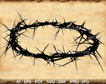 Vector CROWN of thorns, AI, eps, pdf, svg, dxf, png, jpg Download, crown wheel, corona, diadem, discount coupons