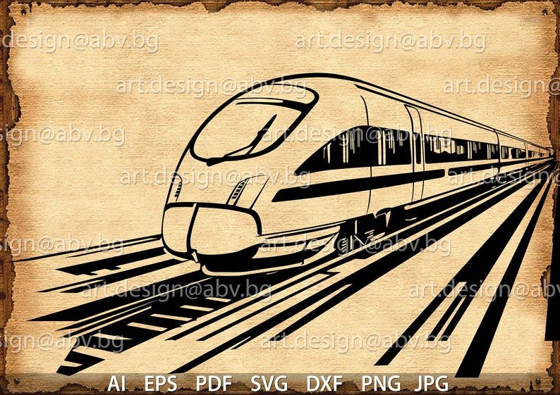 Vector SUBWAY, train, AI, eps, svg, dxf, pdf, png, jpg Download,  collection, models library,discount coupons, vehicle