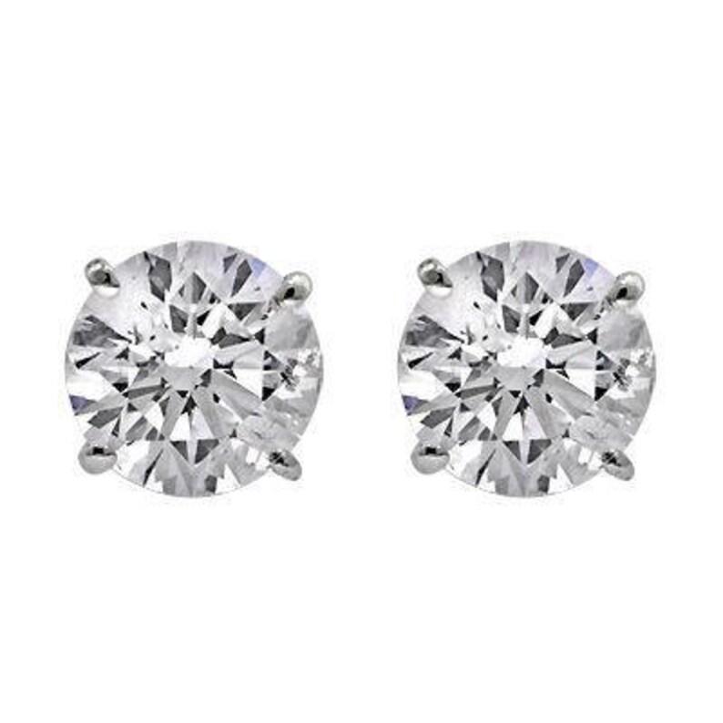6dd67bb6d IGI Certified 14kt Gold Lab Grown Diamond Stud Earrings 3/4   Etsy