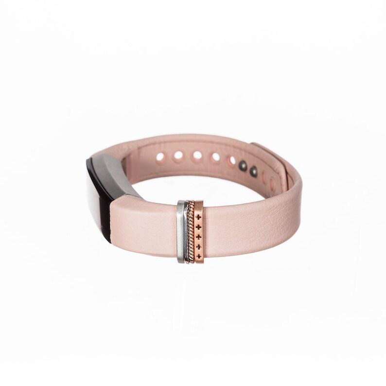 rose gold Classic Stack™ Fitbit Alta & Alta HR accessory