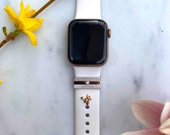 bee Stud - Apple Watch Accessory, Sport Band Charm