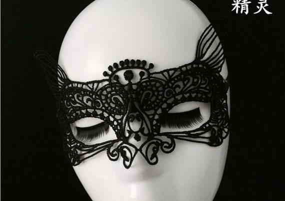 """Maske /""""Schwarze Spitze/"""""""