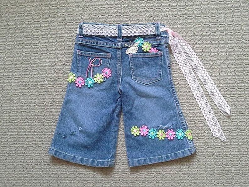 617aae868 Pantalones vaqueros de niño hippy estallaron denim rotos