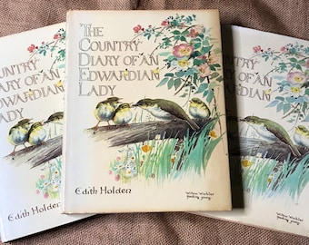 The Country Diary Of An Edwardian Lady by Edith Holden - 1970's Must Have Book