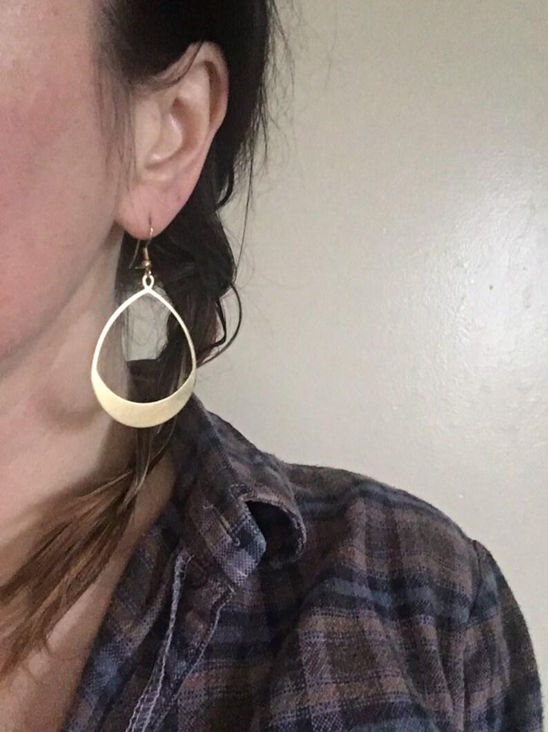 Boho simple dangle earrings