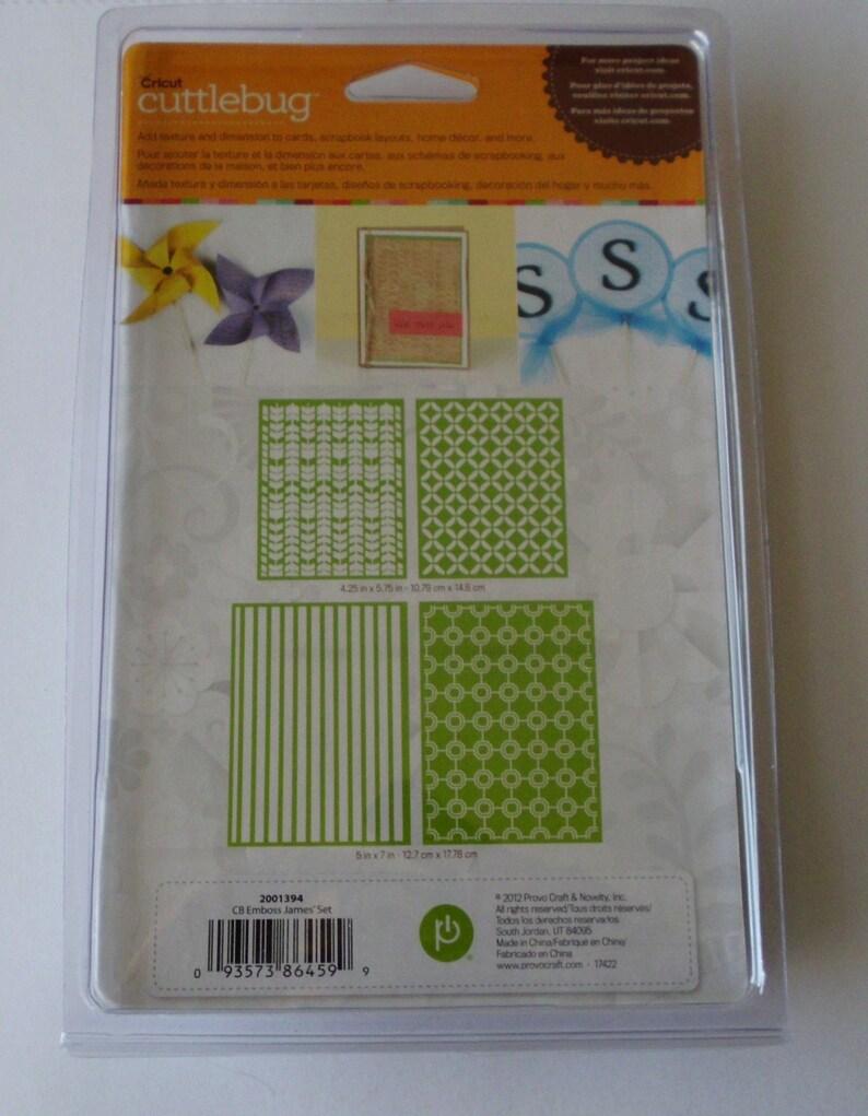 Assorted Embossing Folder Set James/' Set Arrows Cuttlebug Embossing Folder A2 Embossing Folder Circles 5 x 7 Embossing Folder Stripes