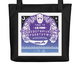 JASON the 13th / Jason Voorhees, Friday the 13th Art Tote bag