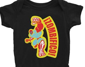Zombifico! Luchador Zombee Infant Bodysuit
