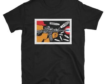 Spray and Pray / Political Art Short-Sleeve Unisex T-Shirt