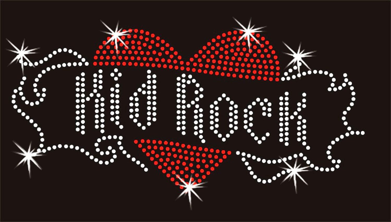 3d831c9ea Kid Rock Angel WIngs Rhinestone Bling V Neck Short Sleeve Womens Tee ...