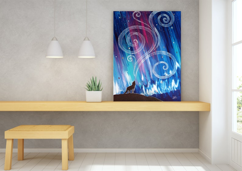 Wildlife Wall Art Top Selling Home Decor Colorful Art image 0