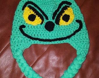b77ace5de86 The grinch! Child sized hat.