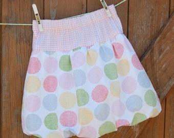 Bubble Skirt Pdf Pattern, Pdf skirt pattern ,Skirt pattern sizes 6M to 12 years