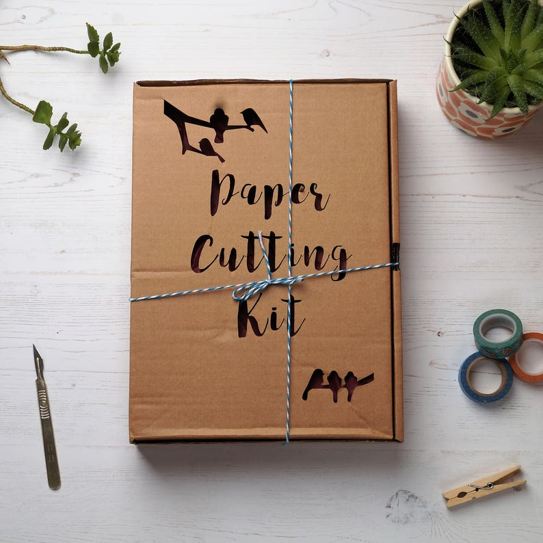Paper cutting kit DIY kit Introduction to paper cutting image 0