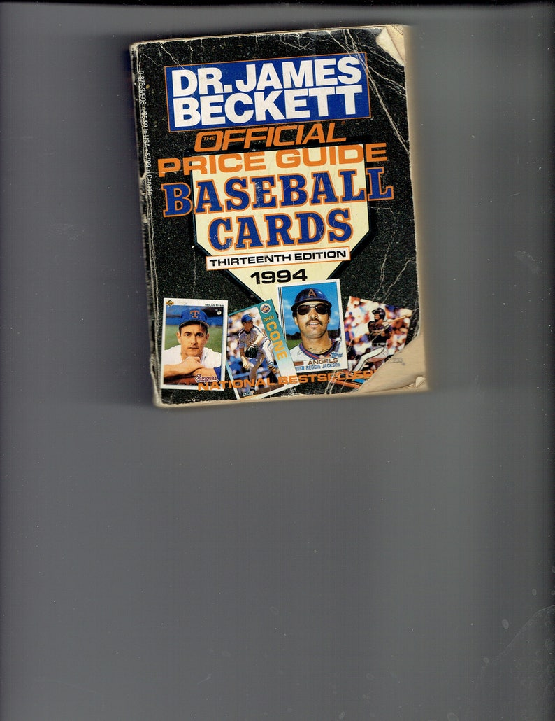 Dr James Beckett Official Price Guide 1994 Baseball Cards