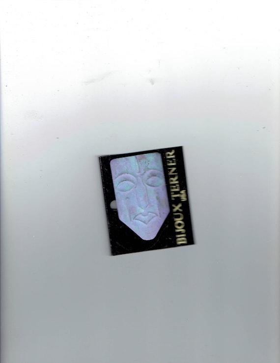 Fy Bijoux bijoux terner mask pin 1960's | etsy