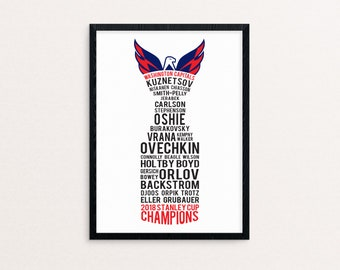 1d117875e9b 2018 Stanley Cup Champions Washington Capitals