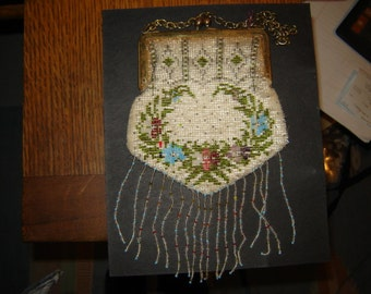 Beaded purse antique 1920s