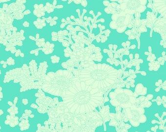 Tilda Fabric - Sunkiss -Imogen Teal - Yardage