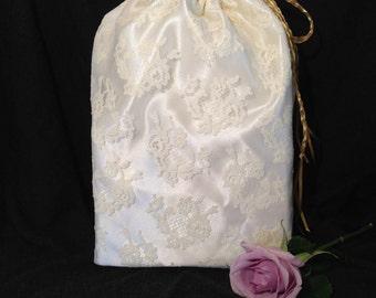 "Bridal Lace Bag ""Lady Banks"""