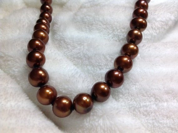 Pearl Necklace Cultured Freshwater Pearl Necklace