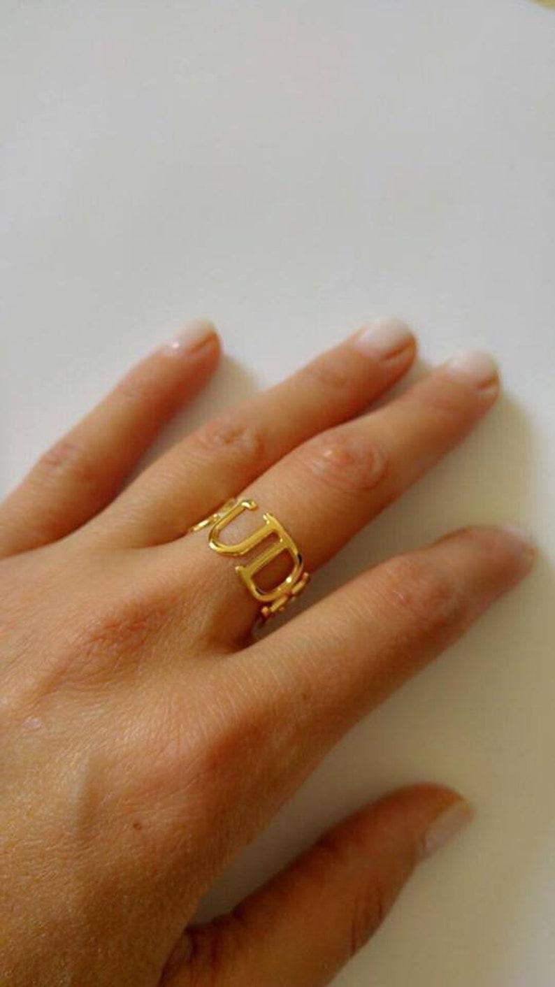 Name Ring Personalized Ring Custom Ring Personalized name ring Initial Ring Gold Ring Name Custom Name Ring