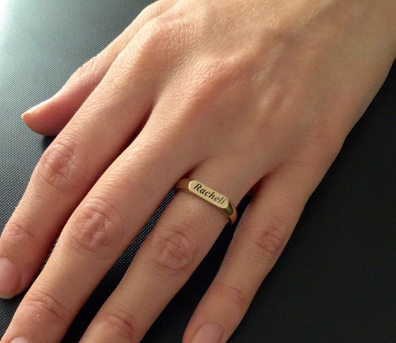 Stacking Rings Initial ring Gift for mom Engraved ring,1-3 Personalized Ring Personalized Mommy Jewelry women ring Gift for women