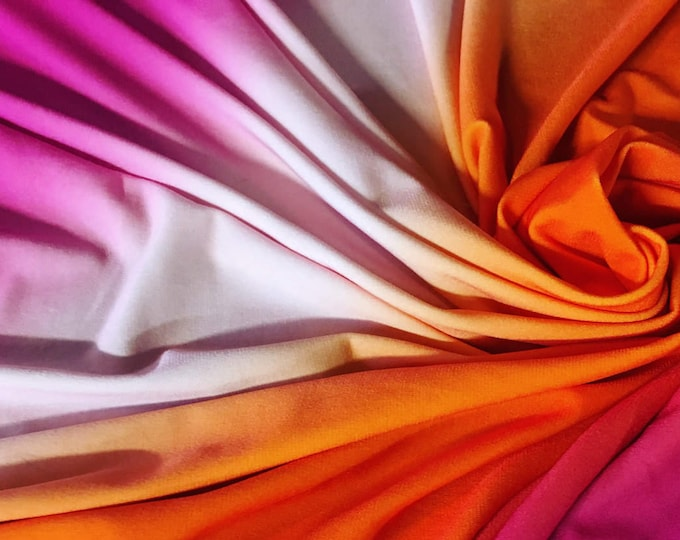 Color of Sunset Fabric