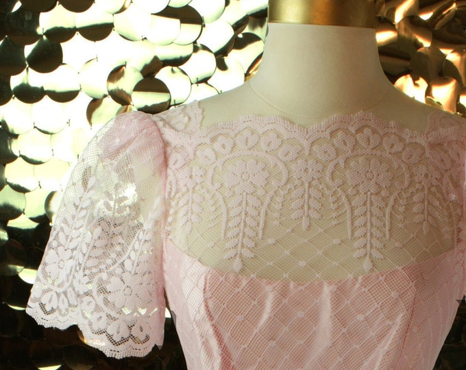 NEW Light Pink JcPenney Lace Dress