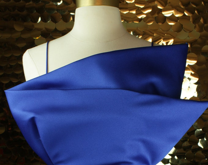 Pantagis Cobalt Blue Asymmetric Dress