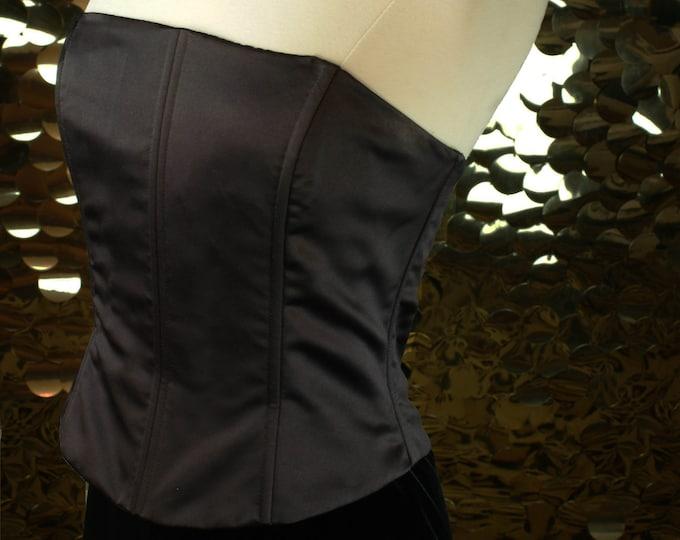 NEW Strapless Bustier Gown by Gunne Sax Jessica McClintock