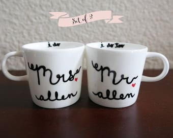 bride and groom gift etsy