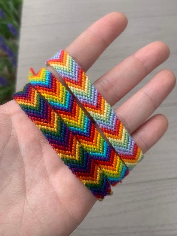 Rainbow prisms Friendship Bracelet